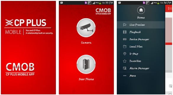 features of gCMOB App