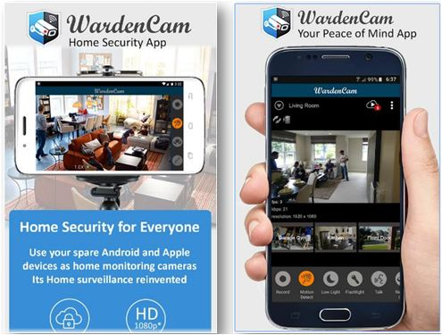 home security camera wardencam app download