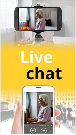 live chat with home security camera alfred